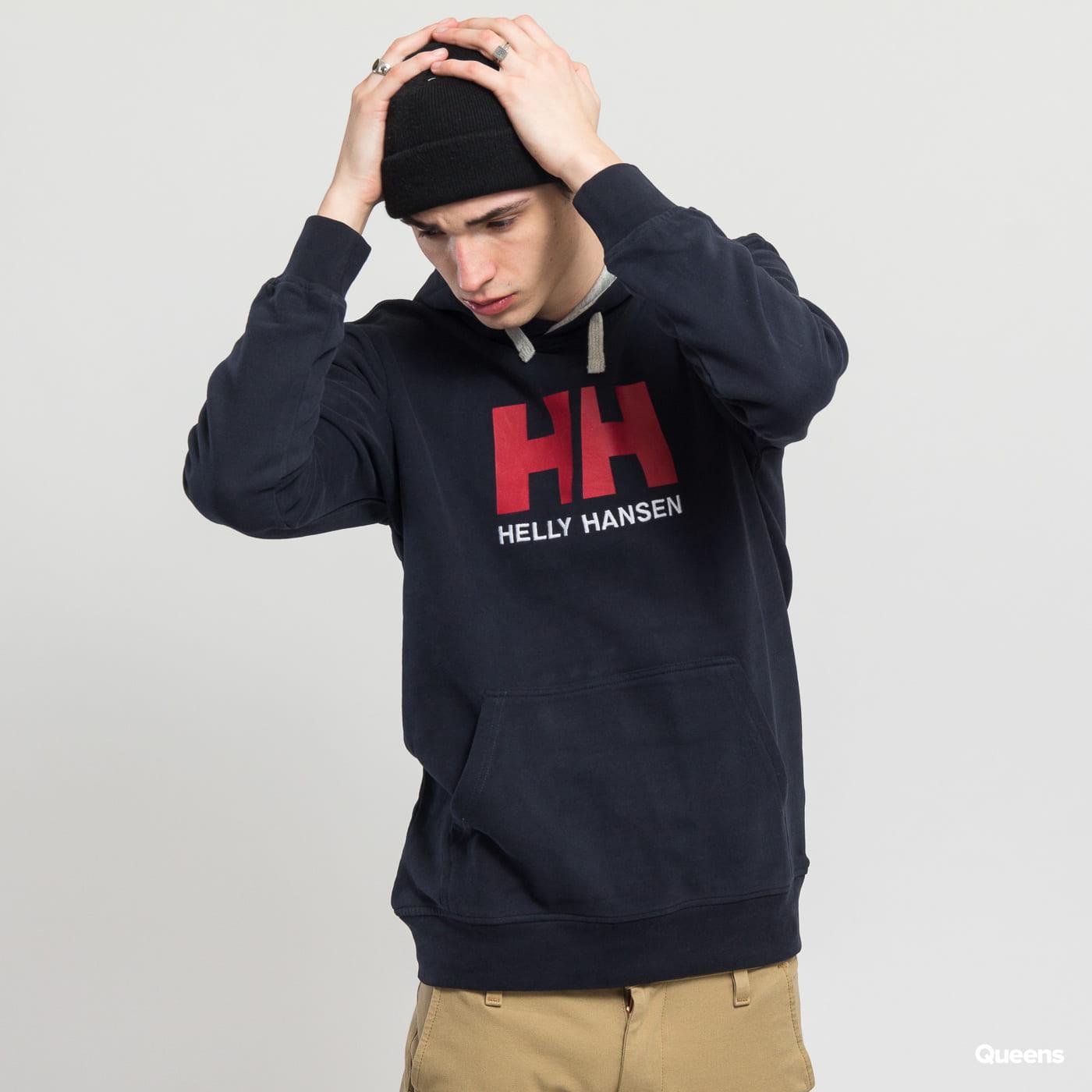 Helly Hansen HH Logo Hoodie navy