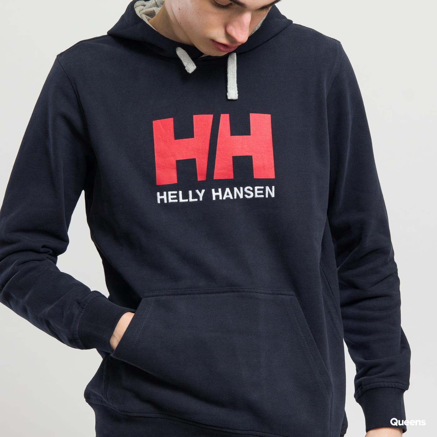 Helly Hansen HH Logo Hoodie Marine