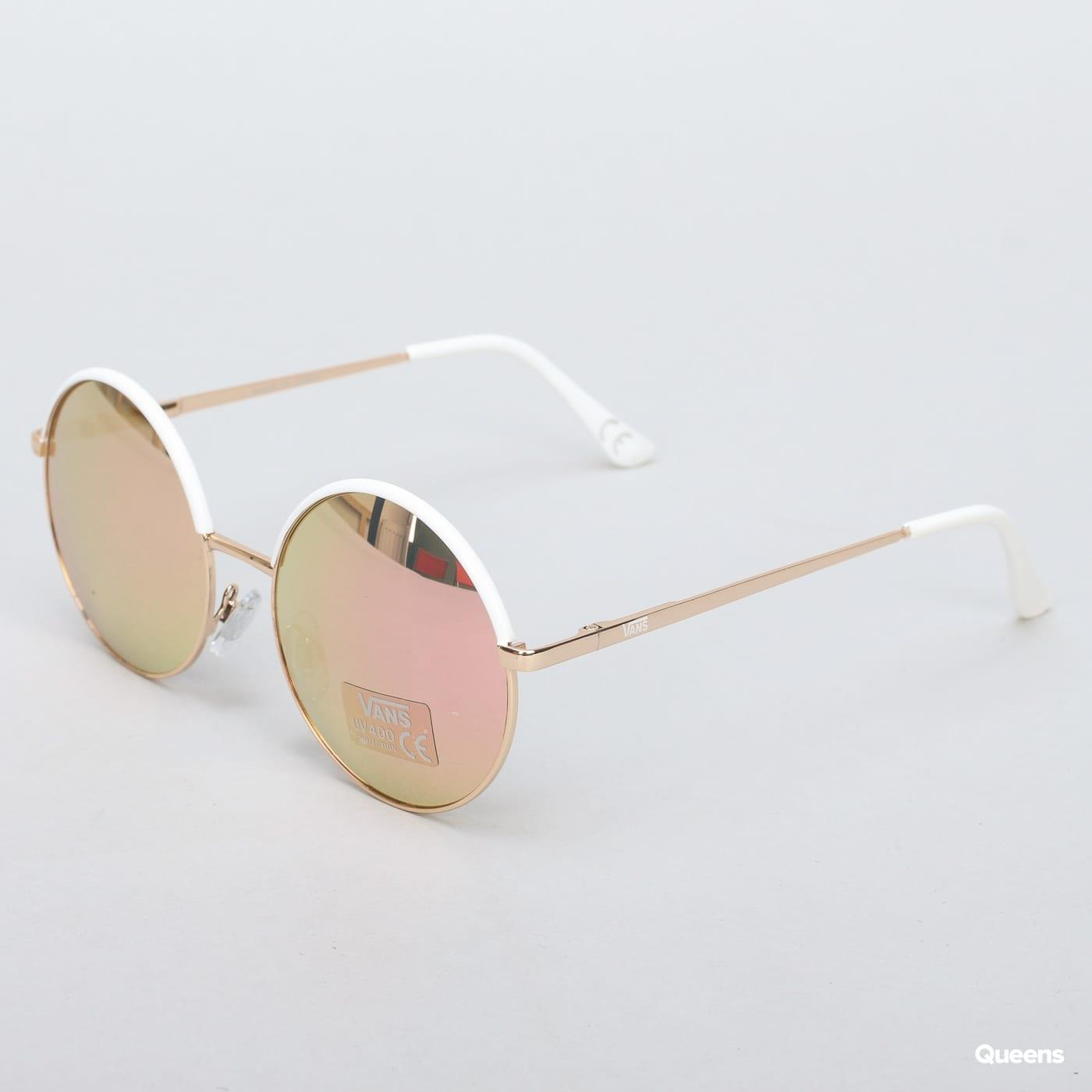 Vans Circle Of Life Sunglasses golden / white