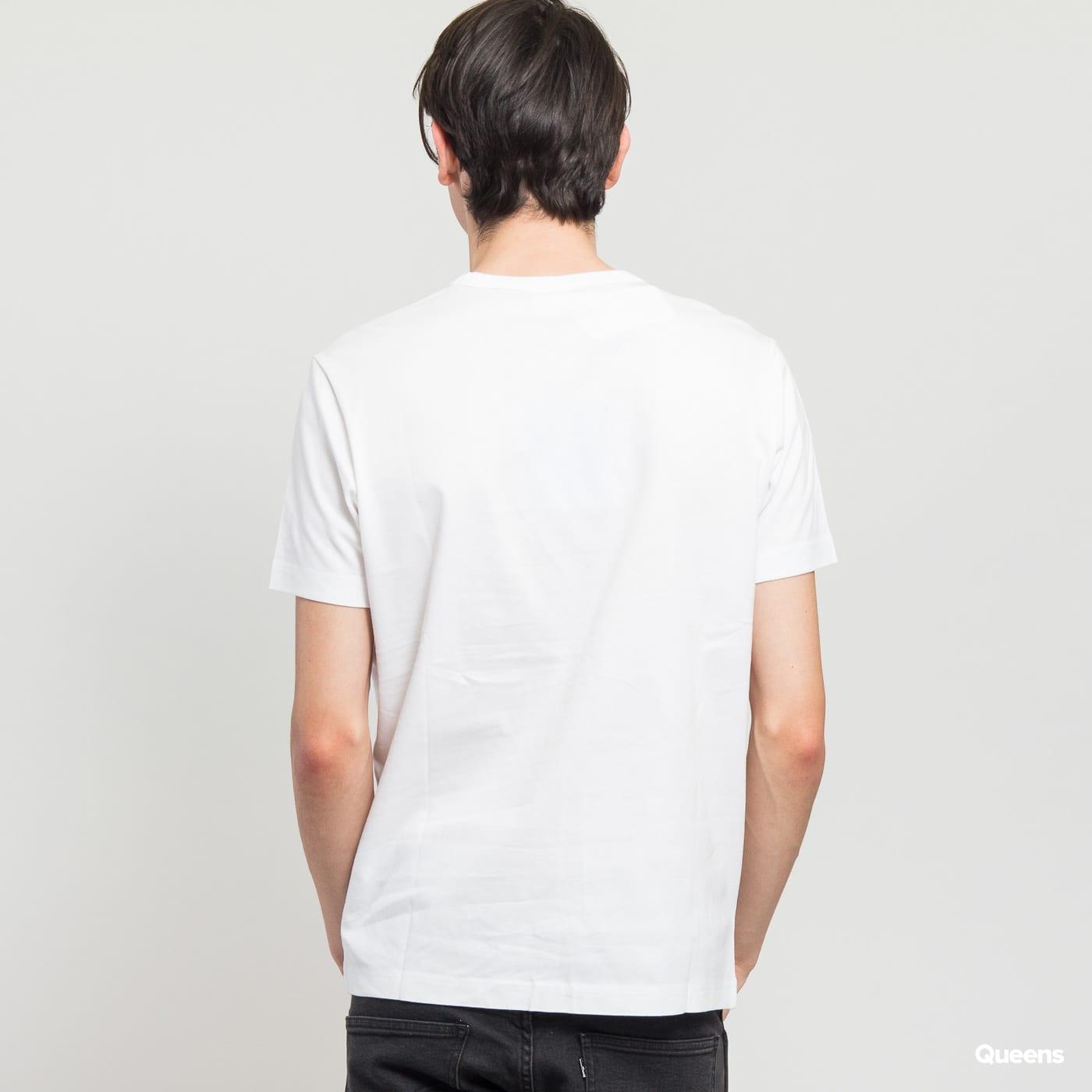 Champion Sleeve Mini Logo Crewneck T-Shirt weiß