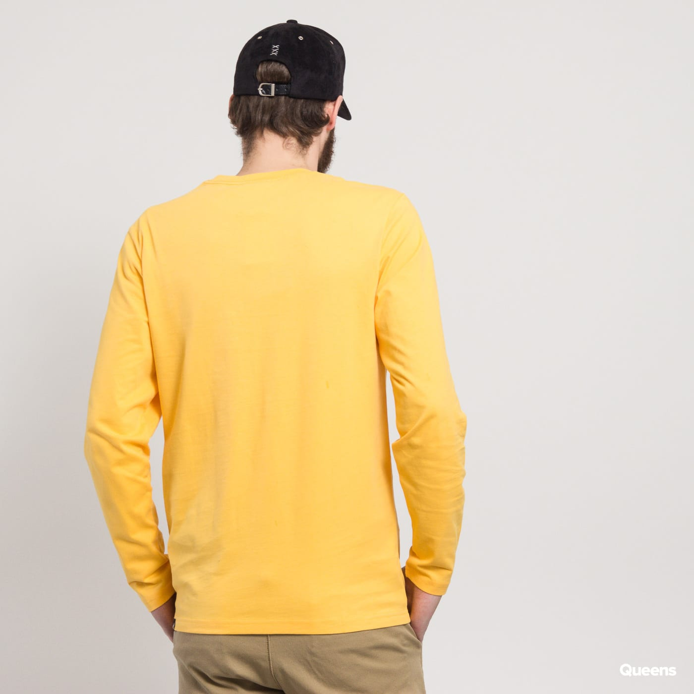 The North Face M LS Fine Tee žlté