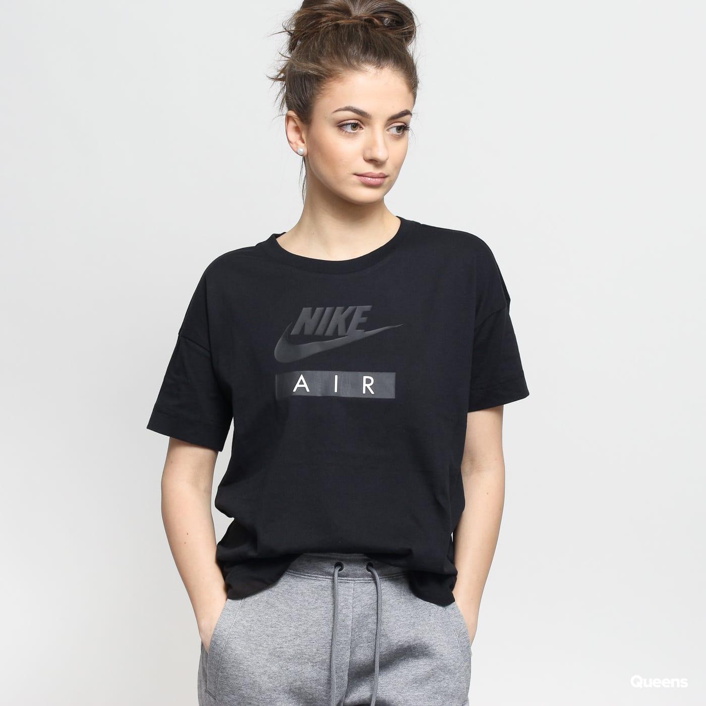 nike damen t-shirt w nsw top logo air