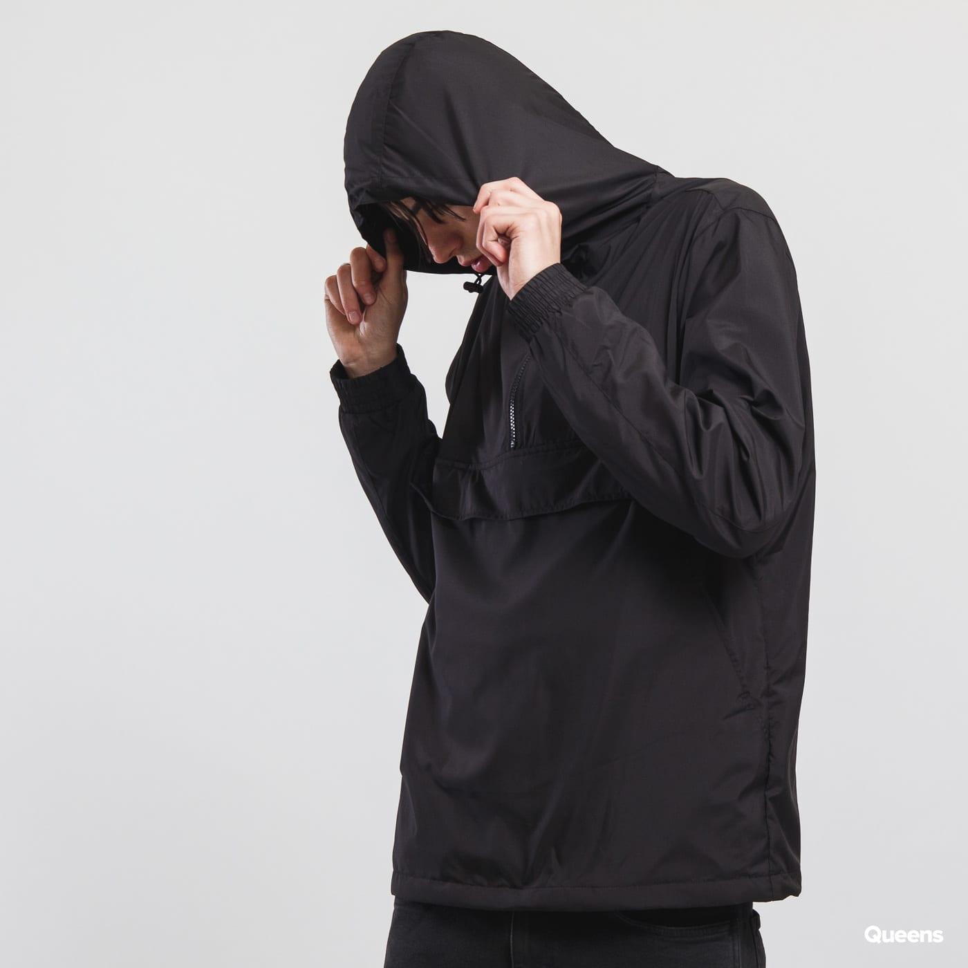 Urban Classics Basic Pull Over Jacket čierna