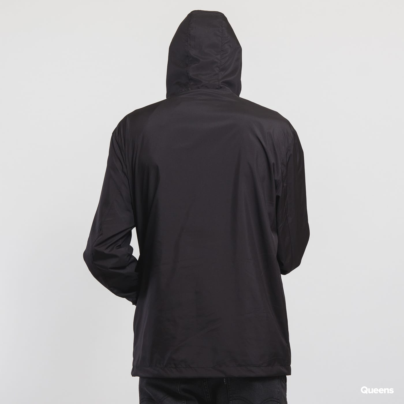 Urban Classics Basic Pull Over Jacket schwarz