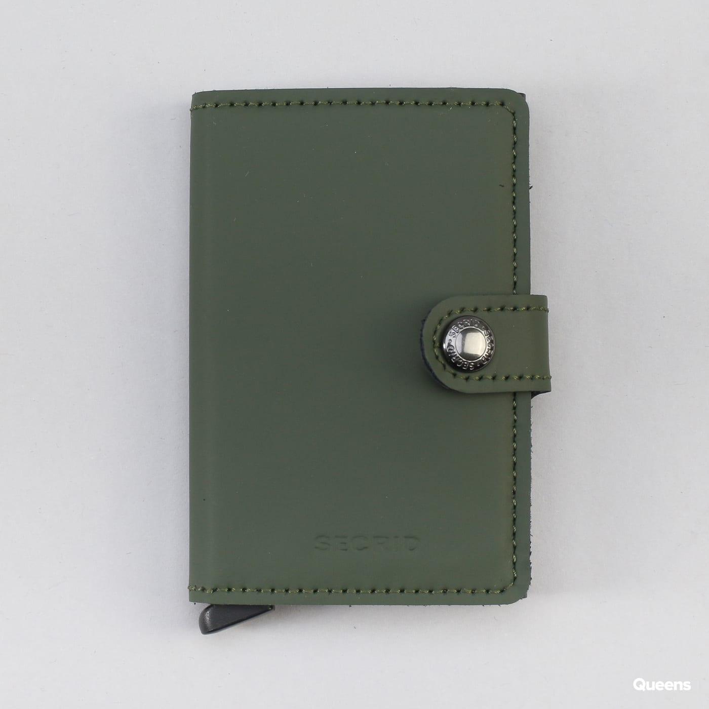 74fb71597eb Peněženka SECRID Miniwallet (MM-green-black) – Queens 💚