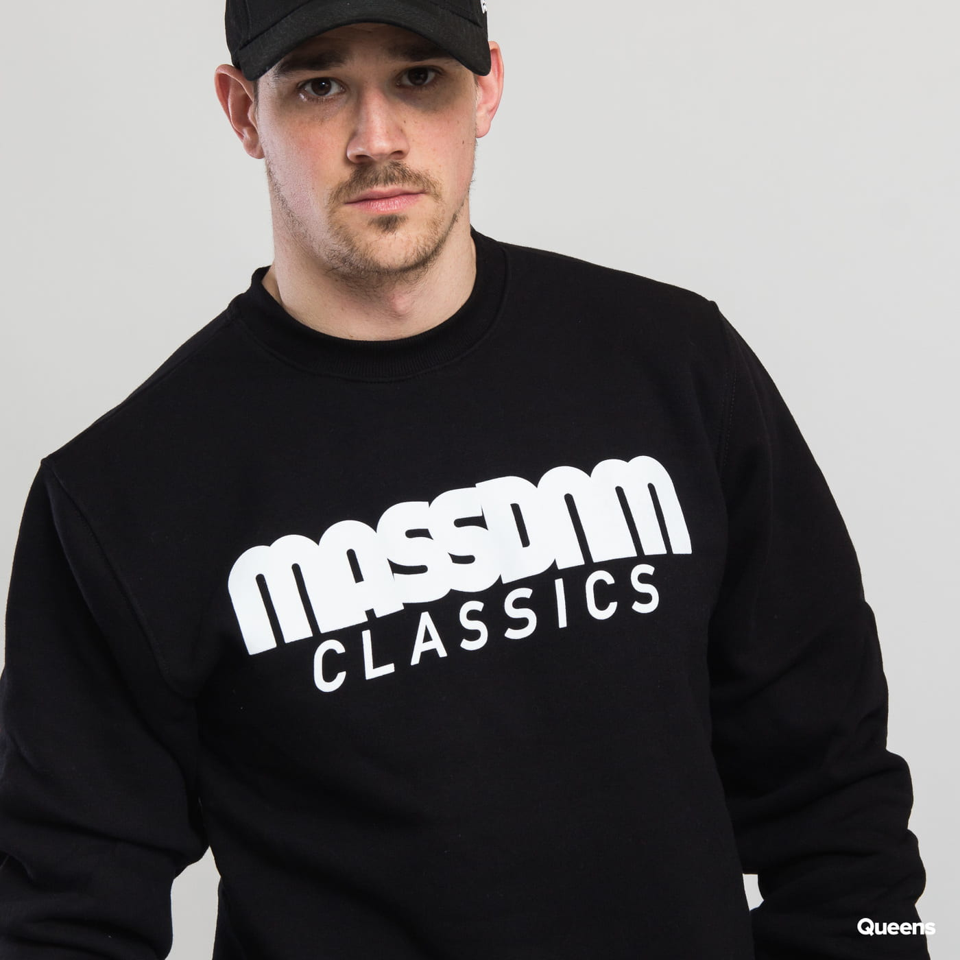 Mass DNM Classics Crewneck čierna