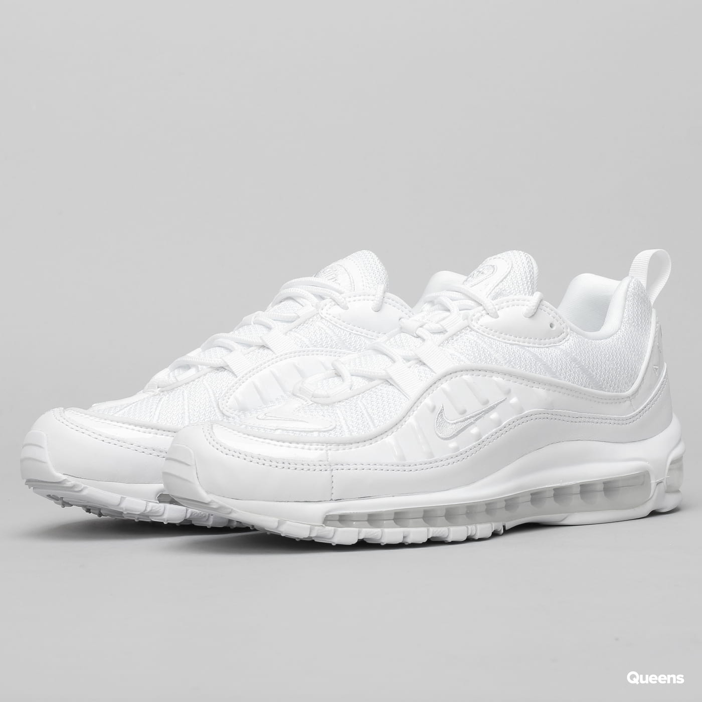 Nike Air Max 98 white / pure platinum - black