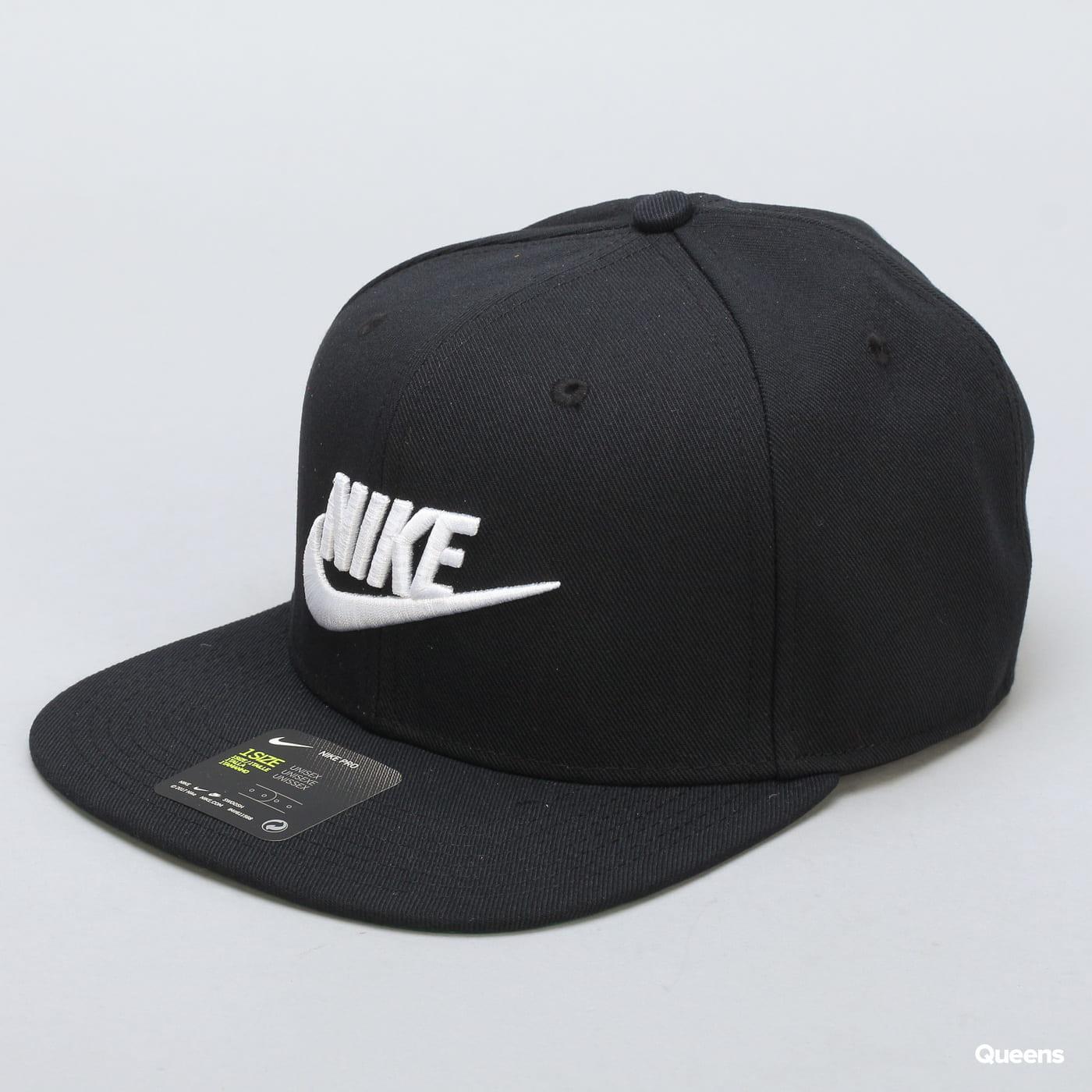 Nike U NSW Pro Cap Futura čierna / zelená