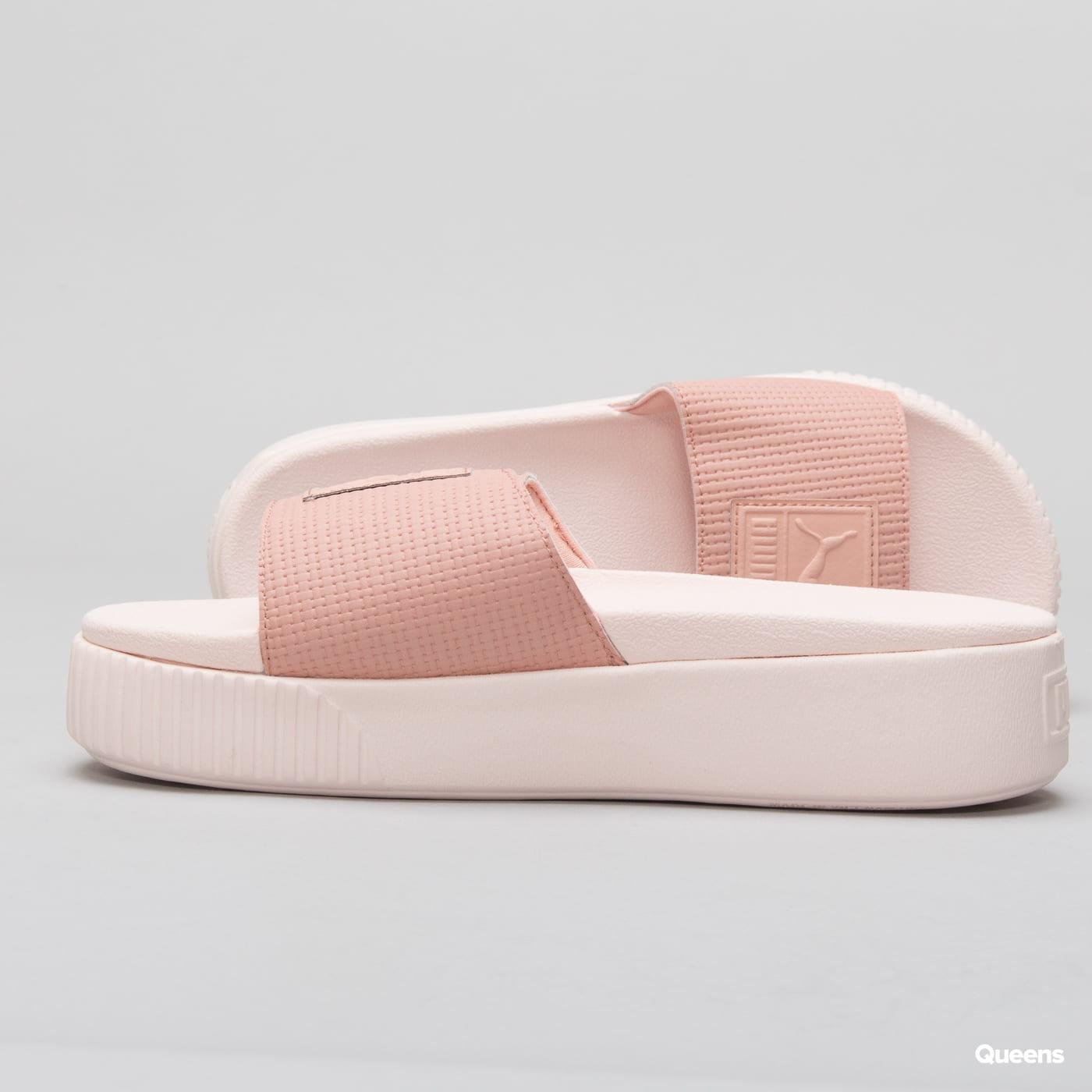 Puma Platform Slide Wn's EP peach beige - pearl