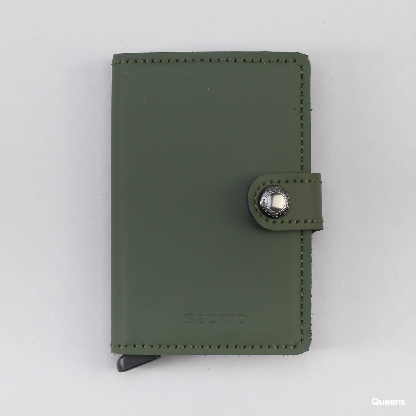 SECRID Miniwallet dunkelgrün