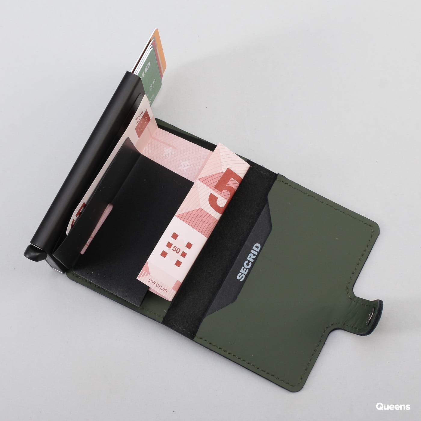 SECRID Miniwallet tmavozelená