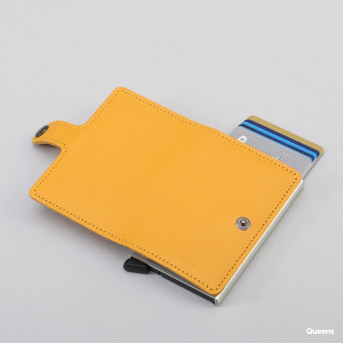 SECRID Miniwallet Crisple gelb / grau