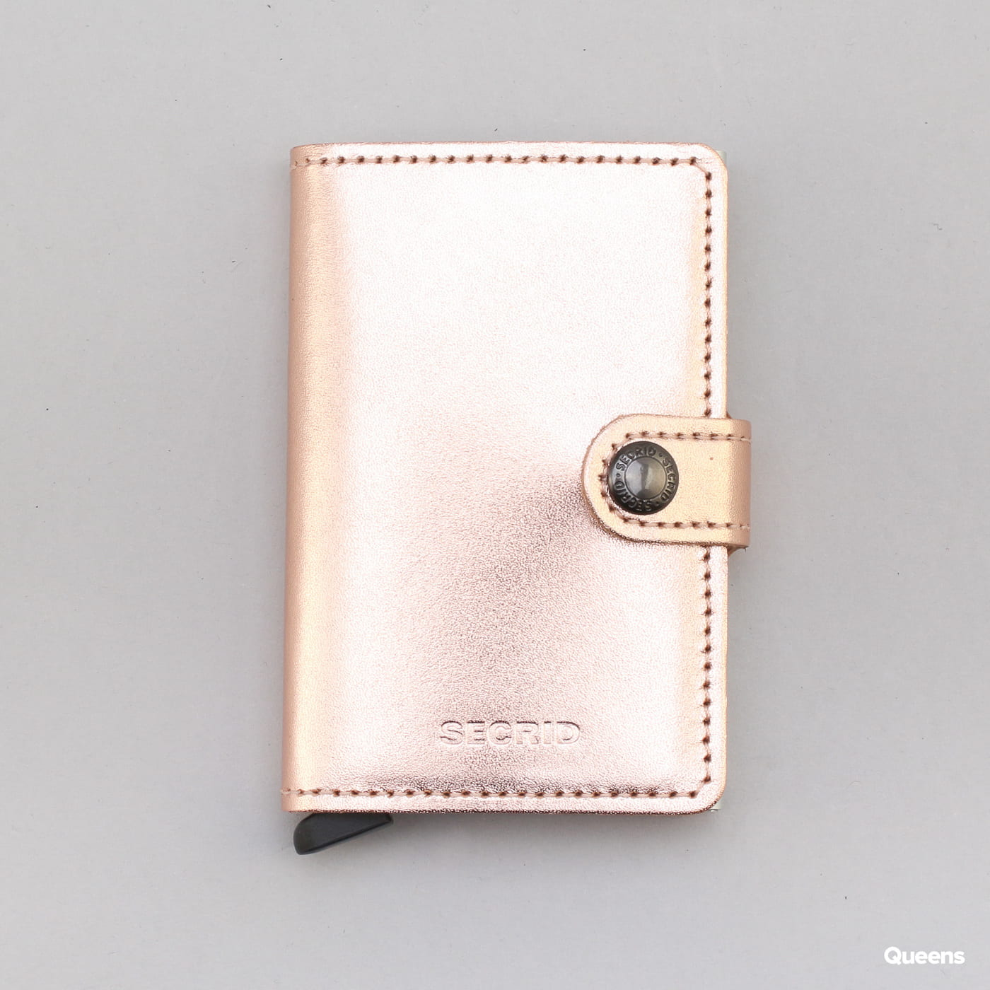 SECRID Miniwallet Metallic golden pink