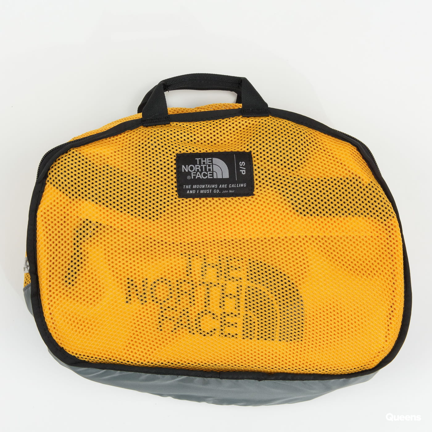 The North Face Base Camp Duffel - S žltá / čierna