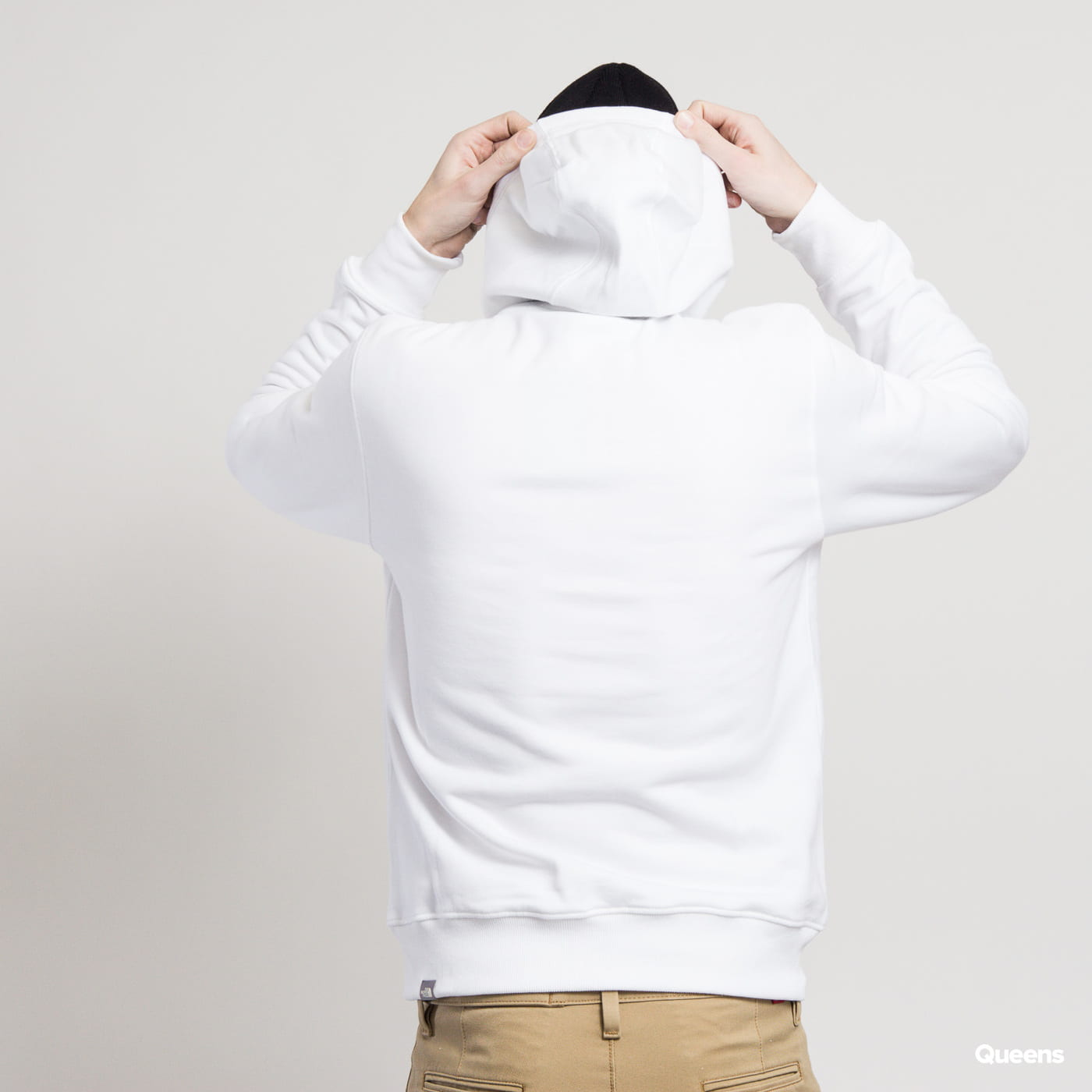 The North Face M Drew Peak Pullover Hoody white