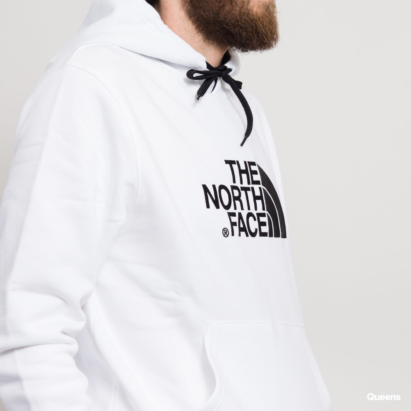 The North Face M Drew Peak Pullover Hoody weiß