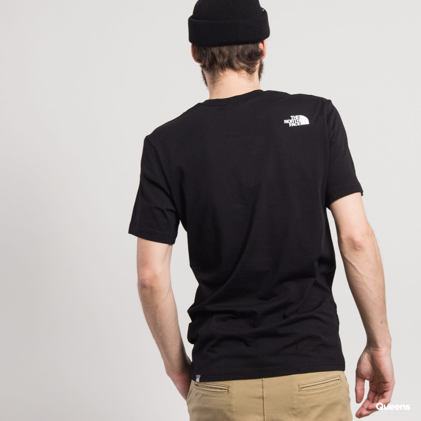 The North Face M SS NSE Tee schwarz