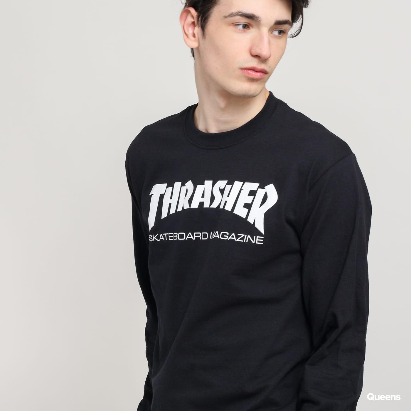 Thrasher Skate Mag LS Tee čierne