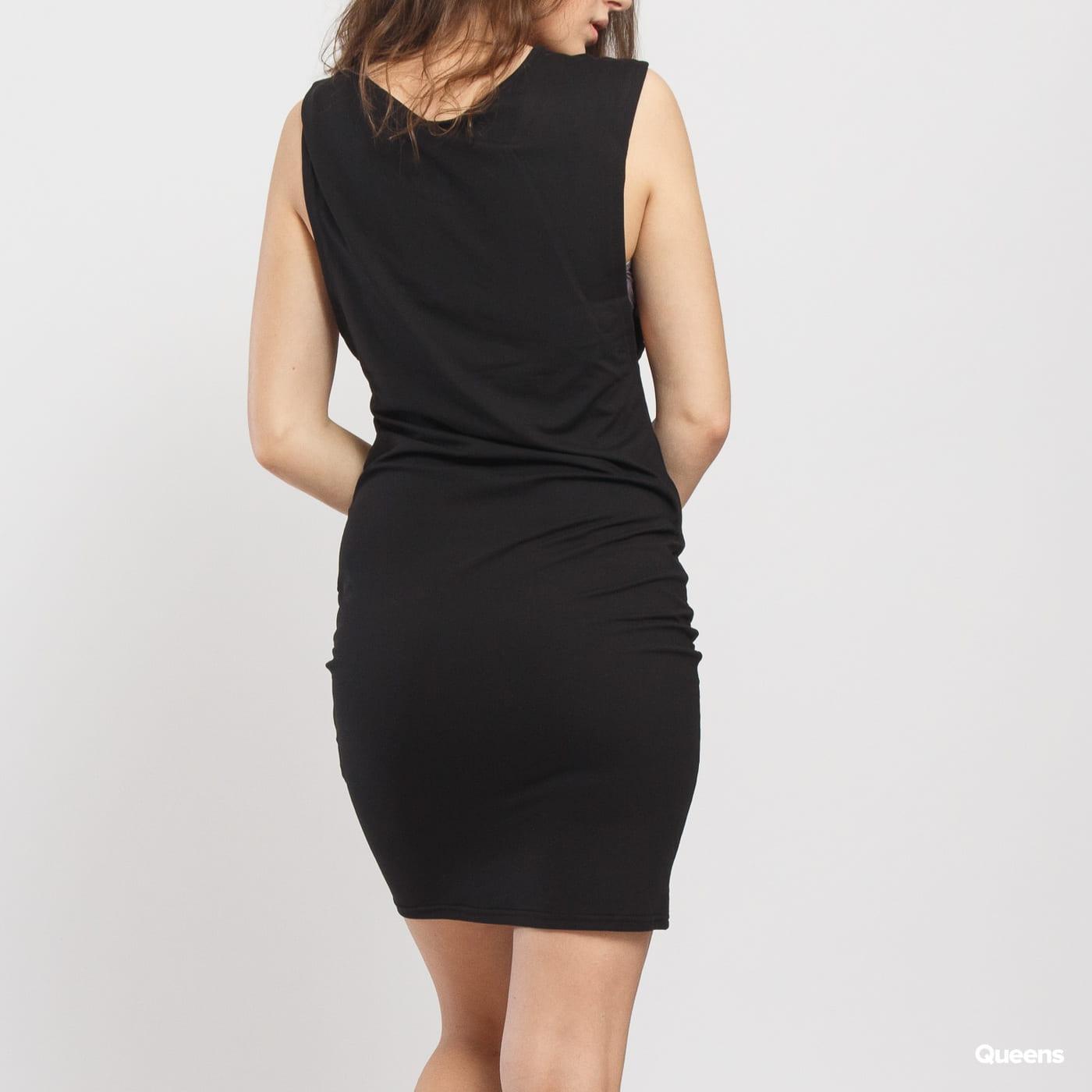 Urban Classics Ladies Deep Armhole Dress schwarz