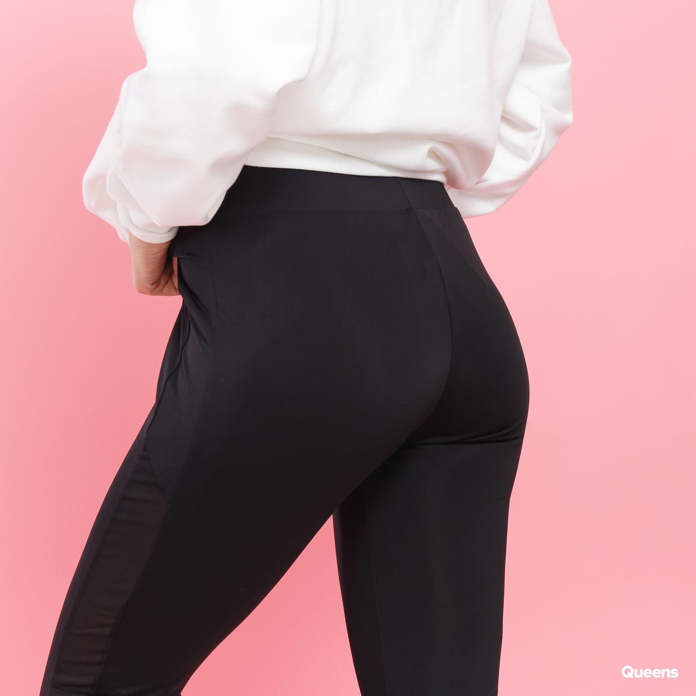 Urban Classics Ladies Tech Mesh Stripe Leggings schwarz