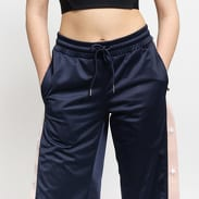 Urban Classics Ladies Button Up Track Pants navy / světle růžové