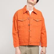 Urban Classics Oversize Garment Dye Jacket rust orange