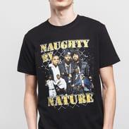 Urban Classics Naughty By Nature 90s Tee černé