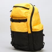 Urban Classics Backpack Colourblocking černý / žlutý