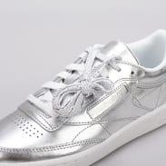 Reebok Club C 85 S Shine silver / white