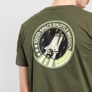Alpha Industries Space Shuttle Tee tmavě olivové