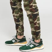 Mass DNM Base Sneaker Fit camo zelené
