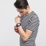 Urban Classics Stripe Tee bílé / černé