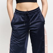 Urban Classics Ladies Button Up Track Pants navy / svetloružové