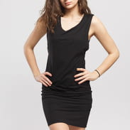 Urban Classics Ladies Deep Armhole Dress černé