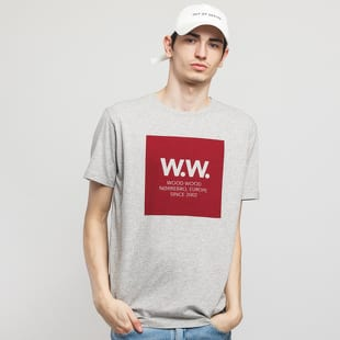 WOOD WOOD WW Square Tee