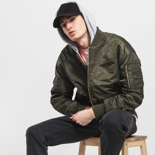 Urban Classics Hooded Oversized Bomber Jacket