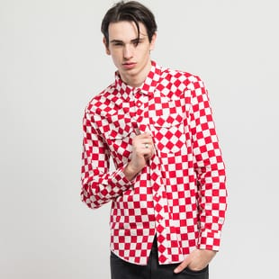 Stüssy Checker Western LS Shirt
