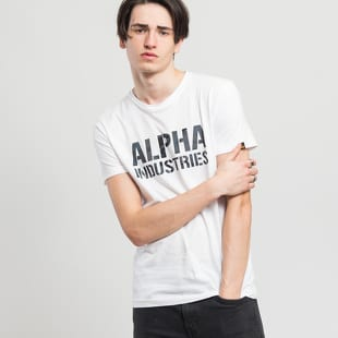 Alpha Industries Camo Print Tee
