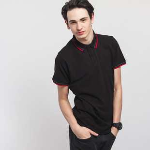 Urban Classics Double Stripe Poloshirt
