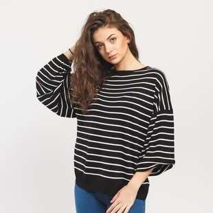 Urban Classics Ladies Oversize Stripe Sweater