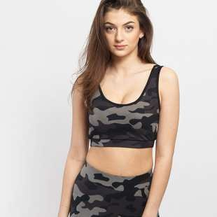 Urban Classics Ladies Camo Bra