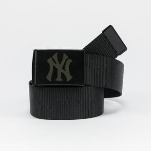 MD MLB Premium Black Woven Belt Single NY