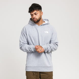 The North Face M Raglan Red Box Hoodie