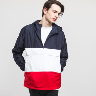 Urban Classics Color Block Pull Over Jacket