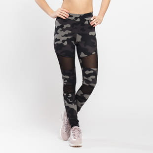 Urban Classics Ladies Camo Tech Mesh Leggings