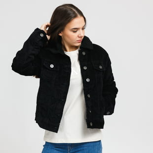 Urban Classics Ladies Sherpa Corduroy Jacket