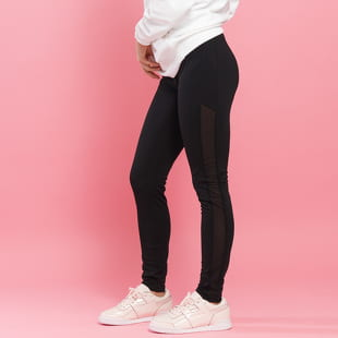 Urban Classics Ladies Tech Mesh Stripe Leggings