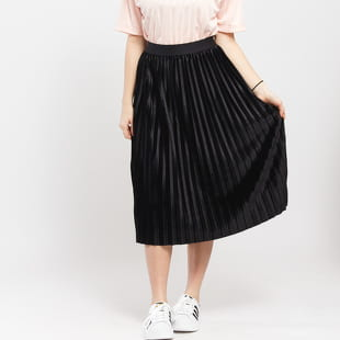 Urban Classics Ladies Velvet Plisse Skirt