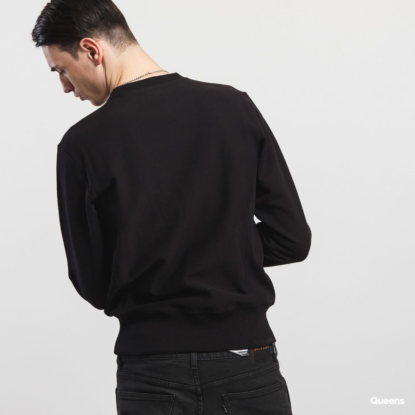 Champion Crewneck Sweatshirt schwarz