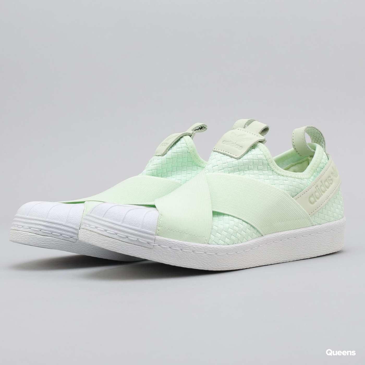 cba1ac10422 Boty adidas Superstar Slipon (CQ2488) – Queens 💚